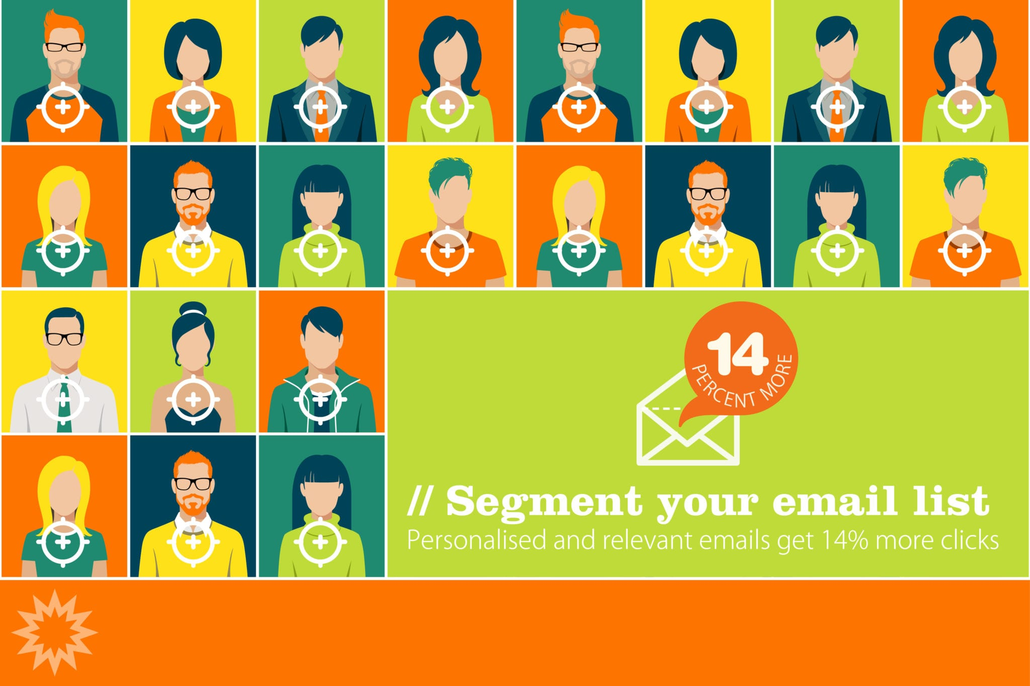 Email marketing segmentation